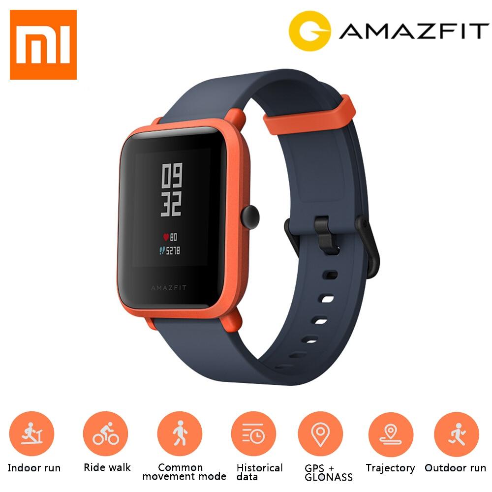 Inglese Versione Xiaomi Huami Amazfit Bip Gloness Astuto di GPS Della Vigilanza Smartwatch di Smart watch orologio Bluetooth 4.0 45 Giorni In Standby IP68