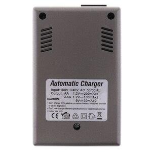 Image 5 - Светодиодный светильник PALO C819, умное зарядное устройство для никель металлогидридных аккумуляторов, аккумуляторных батарей типа AA/AAA, для литий ионных батарей, 9 В, 6F22, вилка стандарта США и ЕС