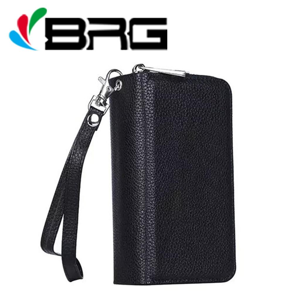 Luxury Zipper Handbag Wallet Leather Case For Samsung Galaxy S4 I9500 I9502 I9505 Phone Flip Cover Women Purse Bag