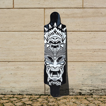 KOSTON pro longboard decks with 9ply canadian maple laminated ,39 inch long skateboard deck for downhill racing