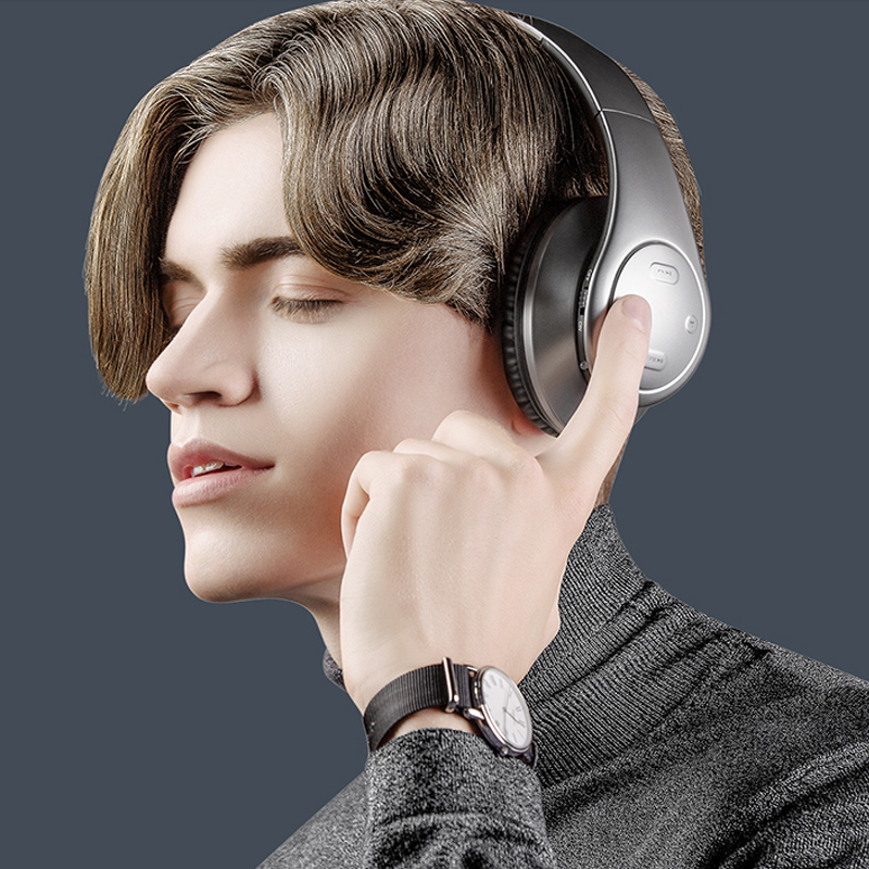ФОТО Headphones for Man Bluetooth with Mic for iPhone 6 6S 5 5S Wireless Headset for Samsung Xiaomi Huawei Stereo fone de ouvido