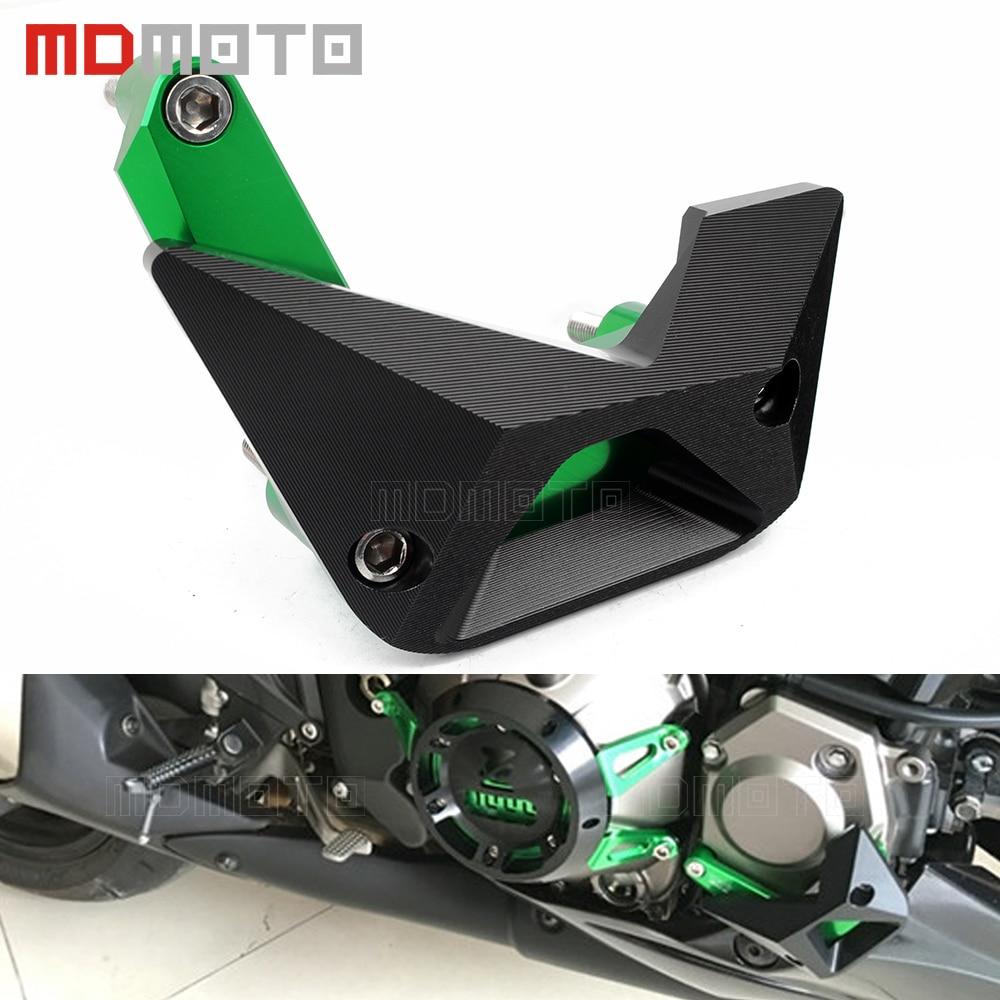 Protection de moteur de moto CNC protecteur de curseur de moteur en aluminium pour kawasaki Z1000 Z1000SX Z1000 SX NINJA 1000 2010-2018 Z900 2017