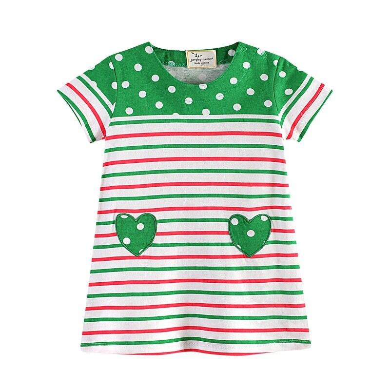 Retail Girls Dresses Princess Children Costume for Child Clothes Baby Green Dress Kids Children Clothing JM6733