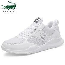 CARLETO Men's Shoes Casual Men's Mesh So