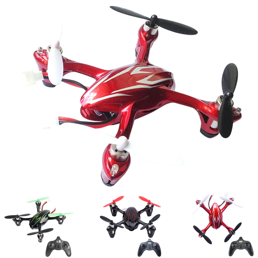 все цены на Hubsan X4 H107C 2.4G 4CH RC RTF Helicopter Quadcopter with 0.3MP Camera RC Drone Aircraft White Red Black онлайн