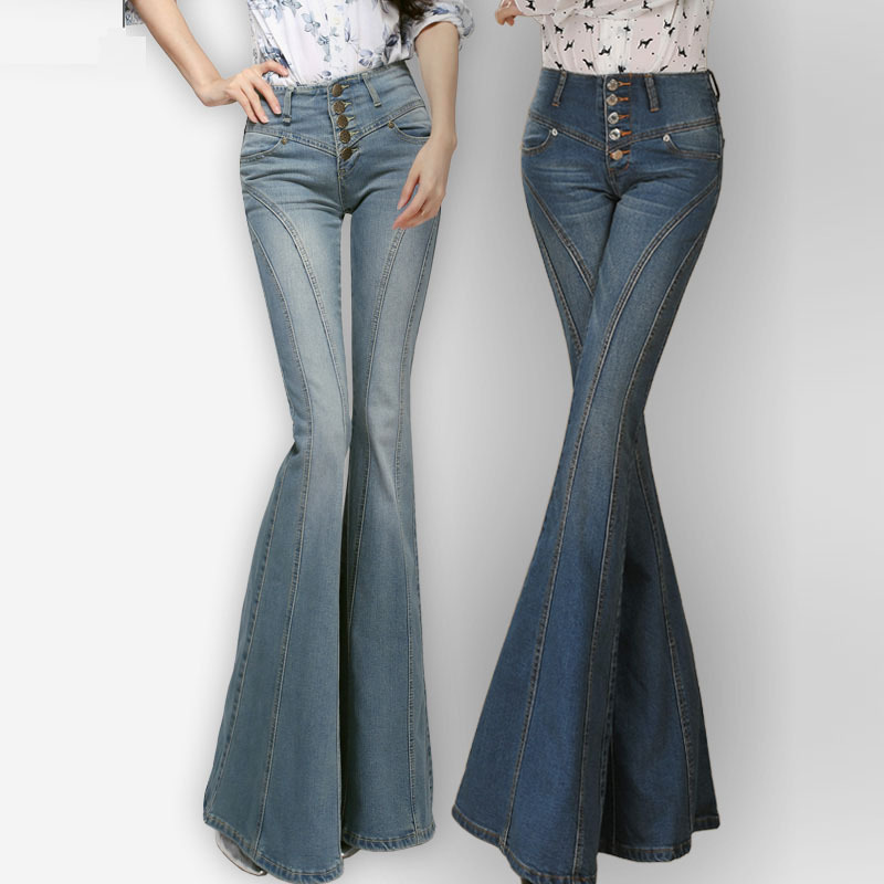Popular Bell Bottom Jeans-Buy Cheap Bell Bottom Jeans lots from ...