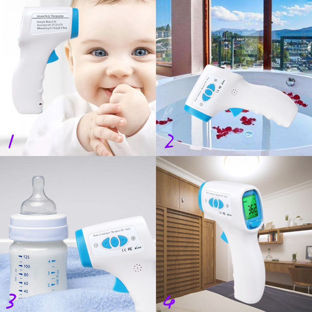 ELERA Thermometer Digital Body Temperature Fever Measurement Forehead Non-Contact Infrared LCD IR Thermometer Baby & Adult 4