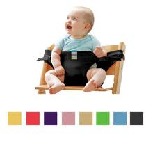 Baby Stretch Wrap Safety Belt Harness Carrier Portable Infant Seat Lunch Dining Chair Fix Cover Strap(China)