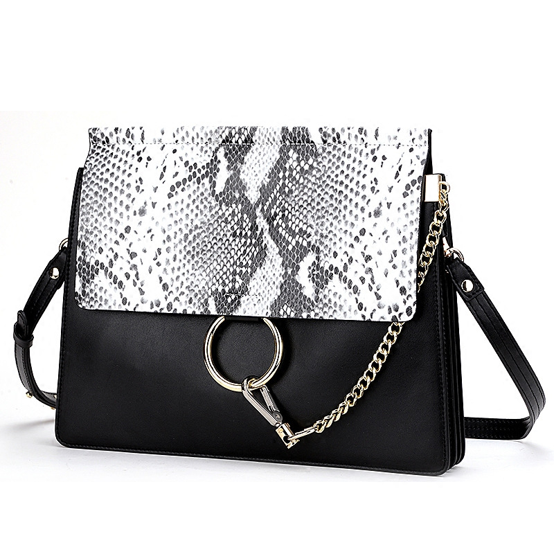 Fashion Luxury Brand Designer Genuine Leather Shoulder Women Cow Leather Serpentine Flap Ladies Chains Crossbody Bags Bao Bao nucelle brand design vintage luxury leopard with horse coat cow leather women ladies handbag shoulder crossbody flap bags