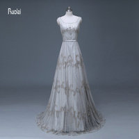 Luxury Heavy Hand Beaded Real Sample Bridal Gowns A Line Wedding Dress 2015 For Weddings Vestidos