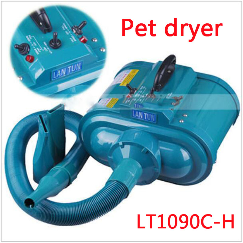 1pc 2016 NEW LT1090C-H 4 Gear Speed Dual-motor Professional Pet Hair Dryer Blower 3600W 220V image