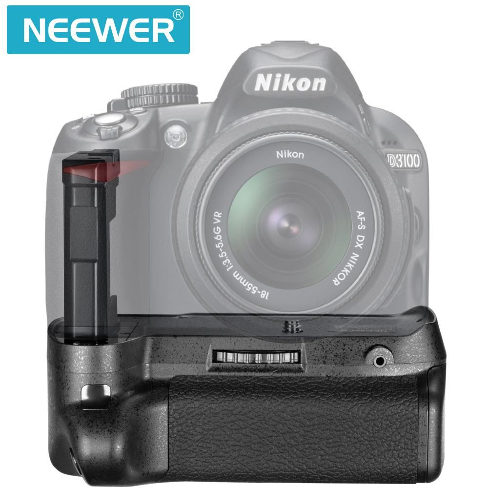 Neewer Bg 2f Professional Vertical Battery Grip Holder For Nikon Where To Get Parts Diagram A D5000 Slr With Dx Vr Afs D3100 D3200 D3300 Digital Camera En El14 In Grips From Consumer