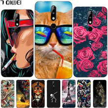 hot deal buy 5.86'' for nokia 5.1 plus case silicone soft tpu phonecase for nokia 5.1+ case cover for nokia 5.1 plus full protection fashion