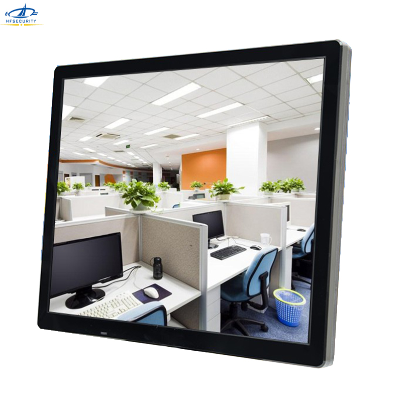 HFSECURITY 19 Inch FHD 1280 1024P CCTV Monitor HDMII BNC VGA LED Screen PC Laptop USB