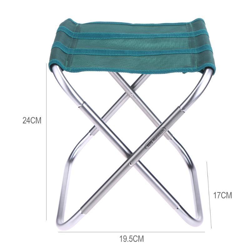 Portable Pliant Tabouret De Pche Chaise Sige Pour Lextrieur Camping Picnic Festival BARBECUE Sur La Plage Avec Sac Lger Tackle Outil
