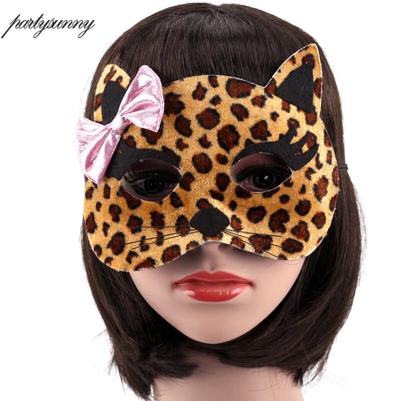 1 st Halloween Party Animal Masks Cosplay Masque Kostym Tillbehör - Semester och fester - Foto 3