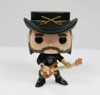 Imperfeito Original Funko pop Rocks: Lemmy Kilmister Vinyl Figure Collectible Modelo Toy Solto Barato Nenhuma caixa