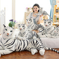 Tigres Brancos de Pelúcia bonito Bichos de pelúcia Boneca de Pelúcia Boo Gorro ty vivid tiger modelo presentes do aniversário dos miúdos do bebê transporte da gota WW32