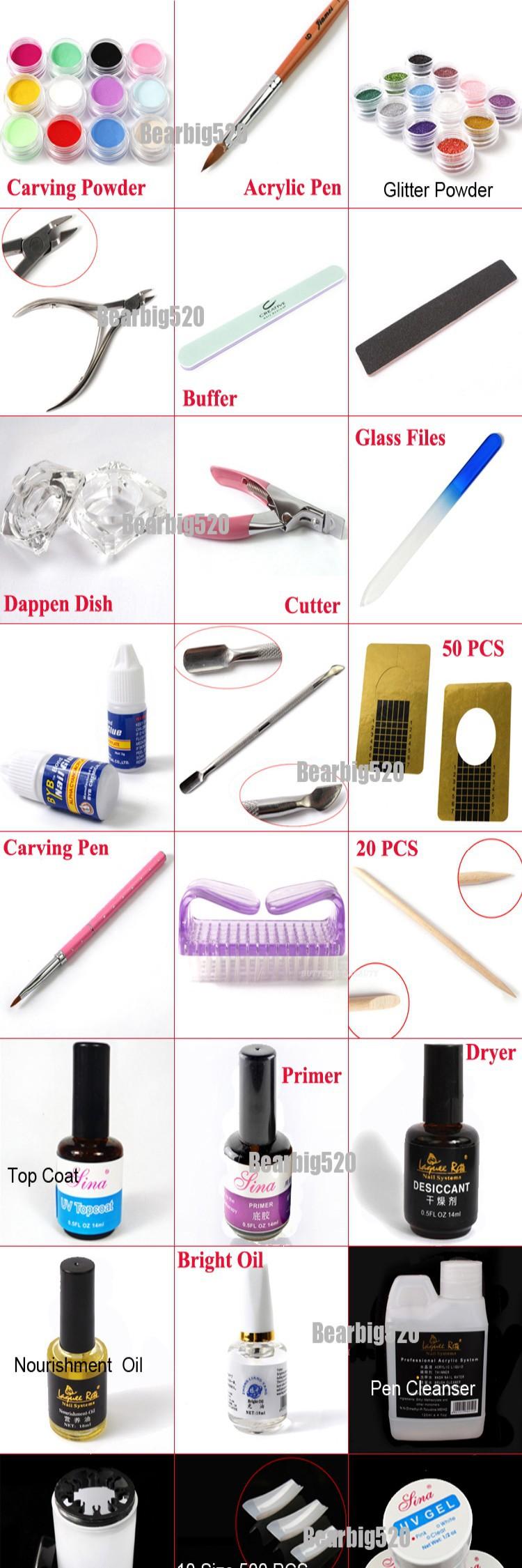 acrylic nail kit 0075A