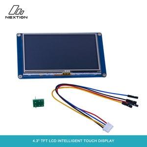 """Image 4 - Nextion NX4827T043 écran tactile Intelligent TFT LCD 4.3 """"meilleure Solution pour remplacer le Tube LCD et LED Nixie traditionnel"""