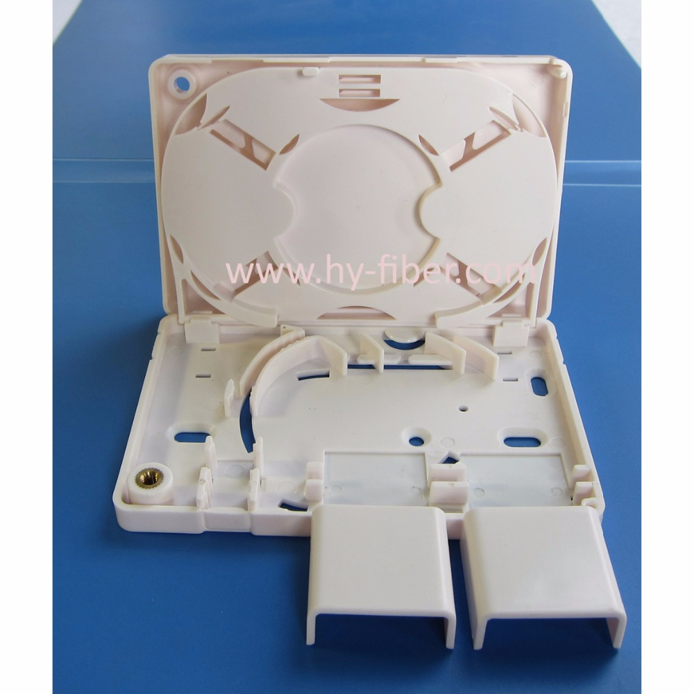 4 Core Compact Ftth Terminal Box Distribution Box Wall