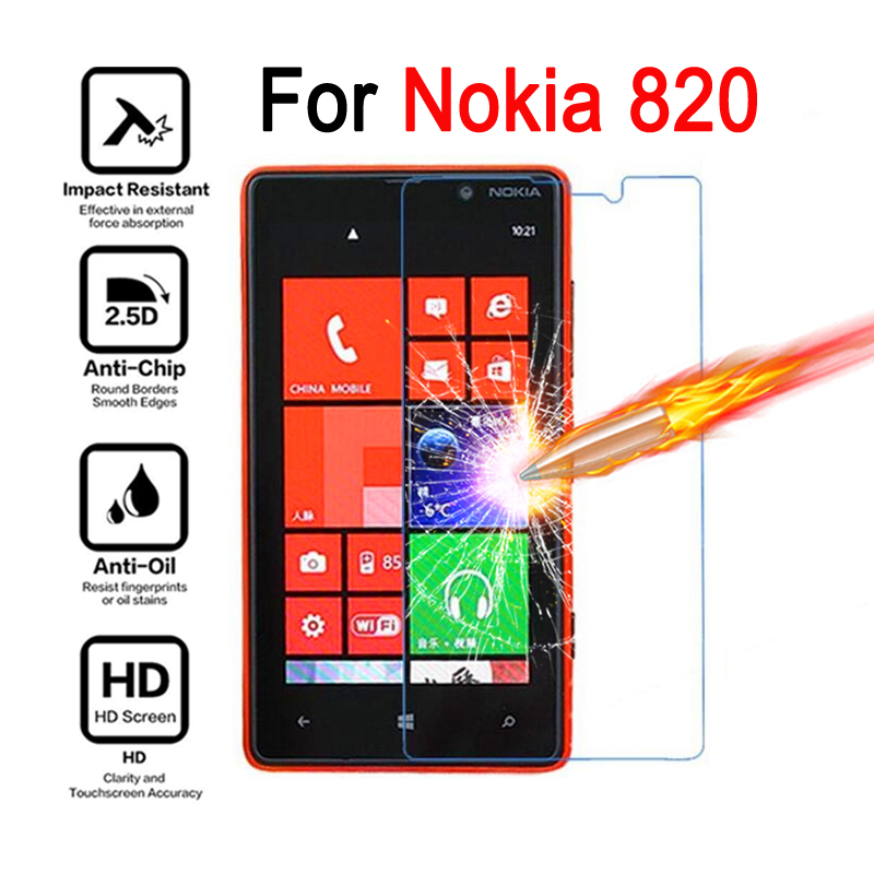 For Nokia Lumia 820 Premium Tempered Glass For Nokia Lumia