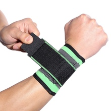 1PCS Adjustable Sports Wrist Brace Wrap Breathable Hand Wrist Bandage Support Fitness Gym Strap Wristband aolikes 1pcs cotton elastic bandage hand sport wristband gym support wrist brace wrap carpal tunnel