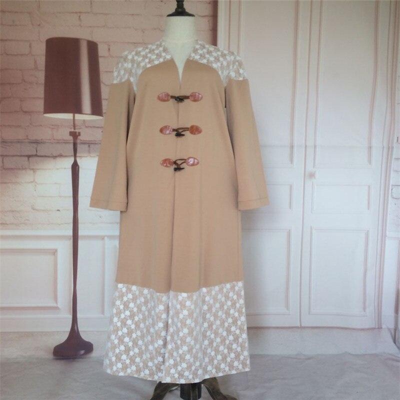 Kvinner Tyrkisk Abaya Jilbab Cardigan Hui Islamic Muslim Cocktail - Nasjonale klær - Bilde 6