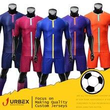 8083b7e83310 URBEX Soccer Jerseys Football Shirt Blank Plain Set DIY Your Own Team Kit  Customize