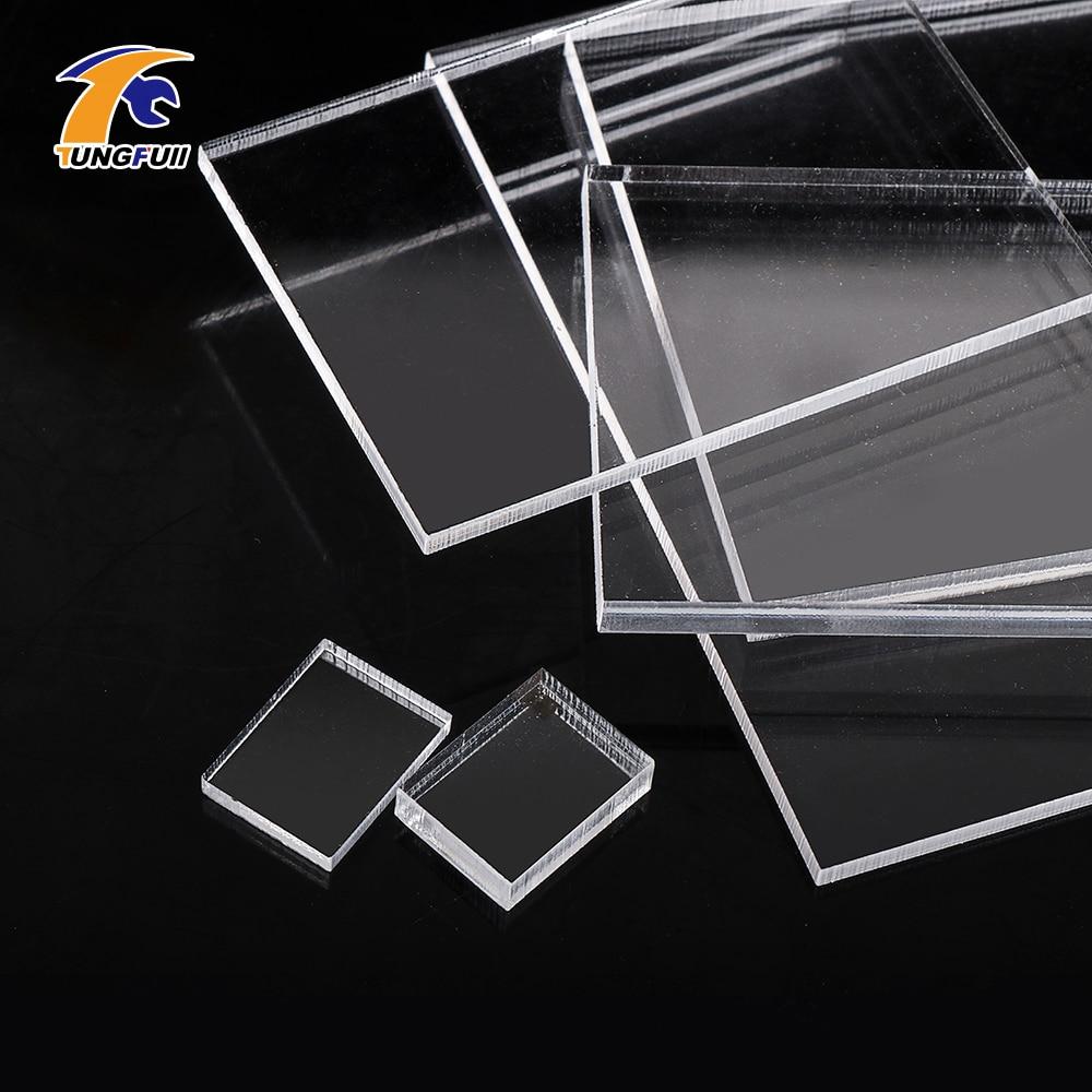 Acrylic Sheet 3mm 5mm Thickness Plastic Transparent Board Acrylic Plexiglass Clear Sheet Plastic Transparent Board