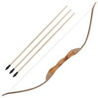 Toparchery прозрачный, из ЭВА-Пластика Лук левша 3 стрелы колчан резиновый наконечник Longbow дети Охота игрушка набор