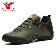 2016 xiangguan Man Outdoor Hiking Shoes fishing Athletic Trekking Boots Women Climbing Walking Sneskers large SIZE EUR 36-48