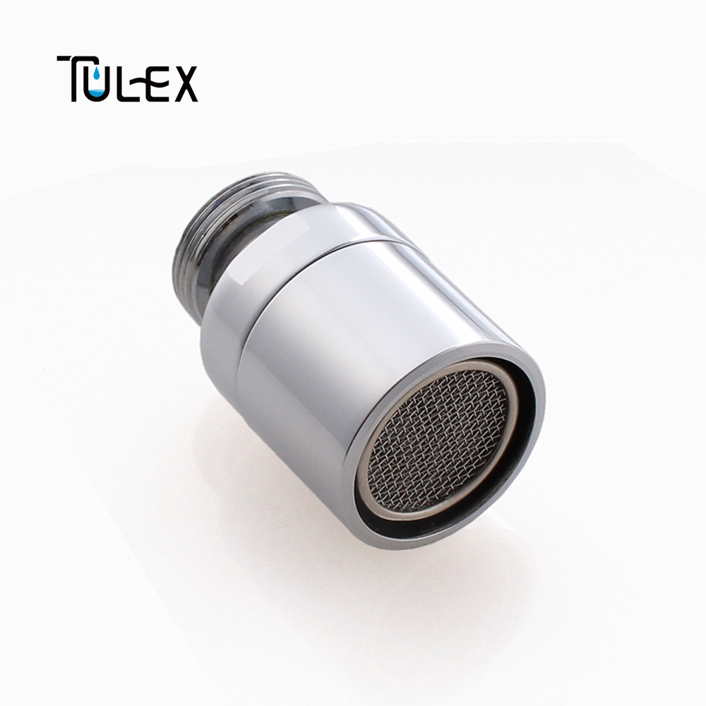 Water Saving Faucet Swivel Aerator 18mm Male Thread Spout