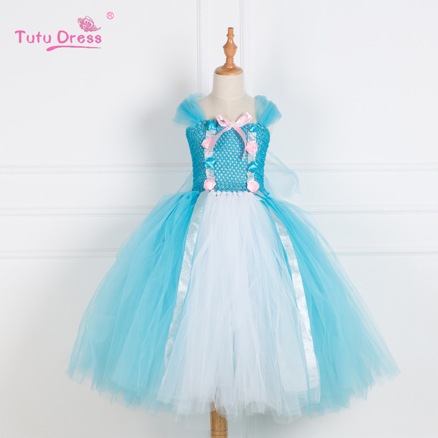 Fairy Tutu Dress Girls Birthday Party Dress Up Costume Colorful ...