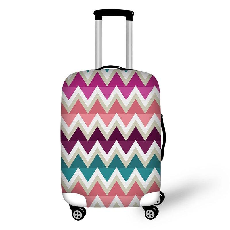 Polígono viaje accesorios Anime patrón tronco aplicar para maleta ...