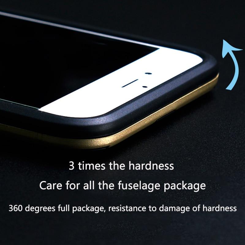 För iPhone 6 6s 6plus PC + Silikon Anti Shock Armor Shield 3D Fodral - Reservdelar och tillbehör för mobiltelefoner - Foto 4