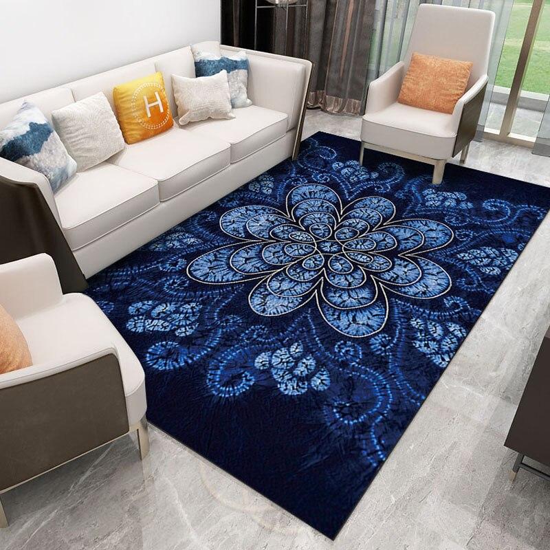 Chinois Nordique Tapis tapis Numérique impression Cristal polaire Non-slip tapis grande maison tapis chambre tapis de sol Hôtel tapis