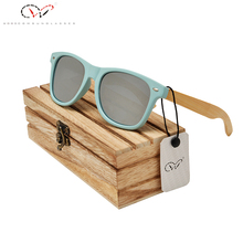 13 Colors Brand Plastic Bamboo Sunglasses Round Frame PC Mirror Rainbow Lenses Men Women Holbrook Plastic  Bamboo Sunglasses