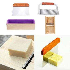 Image 4 - สบู่ไม้ทำชุดเครื่องมือ 1x แม่พิมพ์ซิลิโคนกล่องไม้ + 1x เครื่องตัดตรง + 1x เครื่องตัดหยัก + 1x สบู่ Beveler Planer