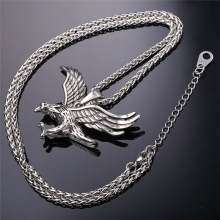 Necklace Steel Hawk Animal