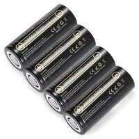 Liitokala 100% original lii-50a3.7 v 5000 mah 26650 batería inr 26650-20a baterías recargables para linterna/microfono