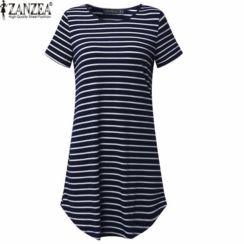 ZANZEA 4 Кольори Літо 2019 Новий Жіночий - Жіночий одяг - фото 5