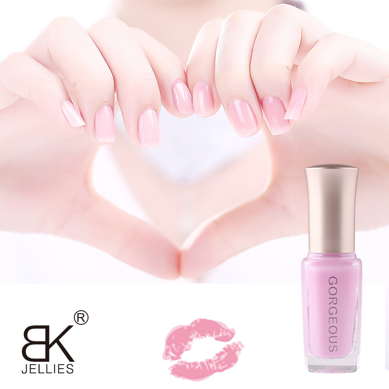 New Nail Polish Candy Nude Color Quick-drying Translucent Jelly Nail Polish 10ML Environmental Protection Lasting Unpeelable 5