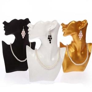 Image 4 - Buste de bijoux en résine pour boucle doreille collier bijoux présentoir titulaire de haute qualité en gros