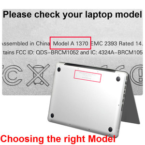 Image 2 - Funda de portátil para Macbook Air 13, Protector de pantalla transparente mate para Apple Macbook Air Pro Retina 11 12 13 15 +