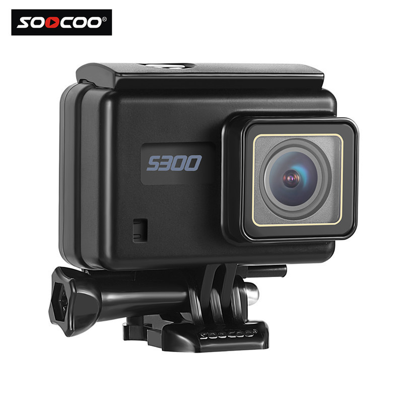 action камера acme vr03 ultra hd 4k SOOCOO S300 Ultra-HD 4K Remote Control Waterproof Action Camera Touch-Screen Bluetooth External Microphone Outdoor Sports DV