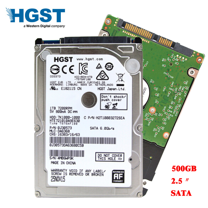 HGST Brand Laptop PC 2 5 500GB Sata2 Sata3 3Gb s 6Gb s Notebook hdd hard