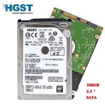 "HGST брендовый ноутбук ПК 2,5 ""500 Гб Sata2-Sata3 3 ГБ/сек.-6 ГБ/сек. ноутбук hdd жесткий диск 8 Мб/32 Мб тонкий до 7 мм Гарантия 3 года"