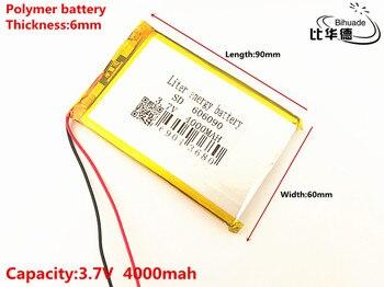 Liter energie batterie 3,7 V original dual motor N70HD 606090 eingebaute batterie 4000 mAh polymer lithium-batterien