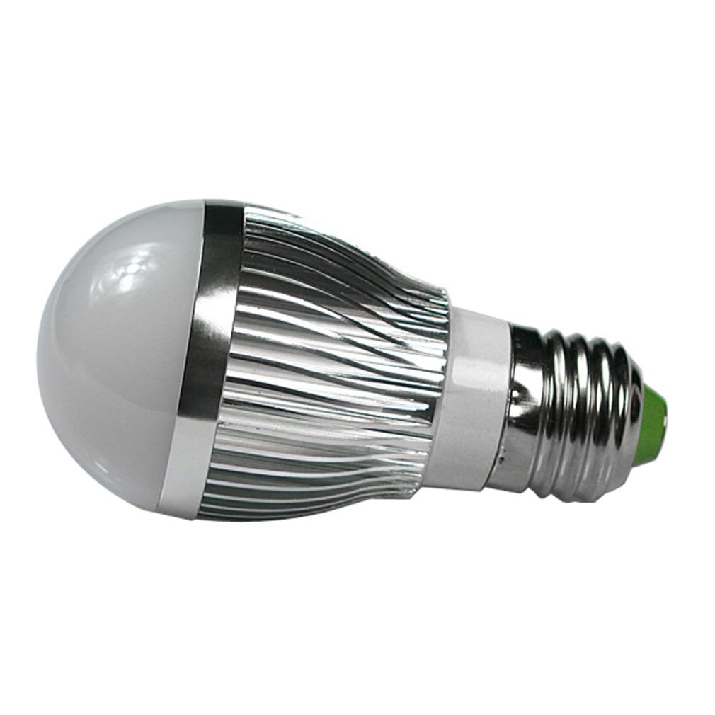ICOCO 4pcs E27 3W High Power LED Globe Ball Light Bulbs Day White